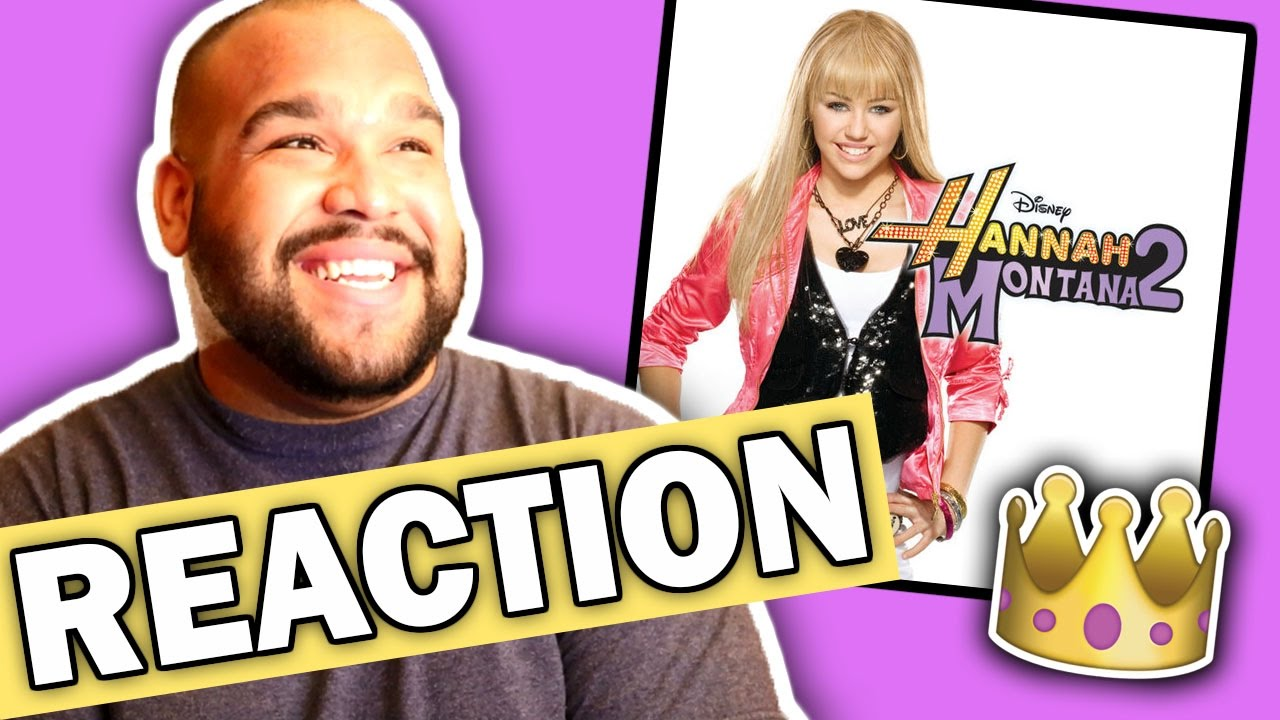 hannah montana nobody s perfect reaction