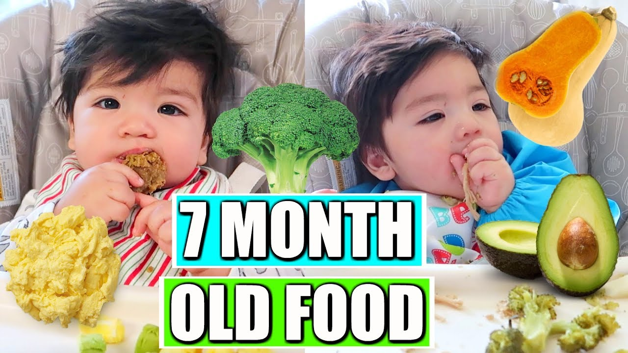 What My Baby Eats In A Day 7 Months Old