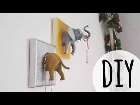 DIY animal canvas decoration | Lisa Heleen