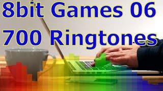 8bit Games 06 - For iOS Devices - iPhone, iPad - 700 Ringtones