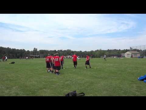 Footbal university camp 2014