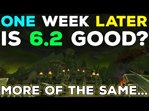 One Week of Patch 6.2 - What Do We Think So Far?