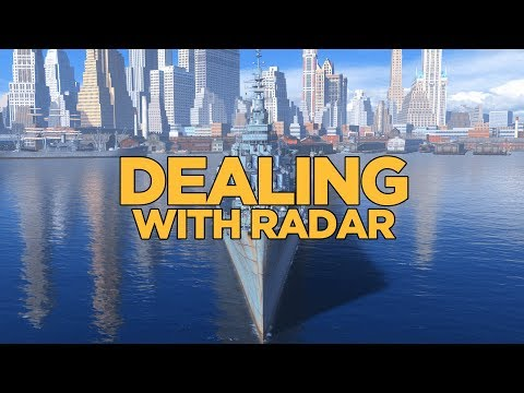 World of Warships - Dealing with Radar