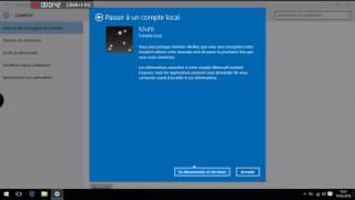 Supprimer un compte administrateur sur Windows 10/ Remove an administrator account on Windows 10