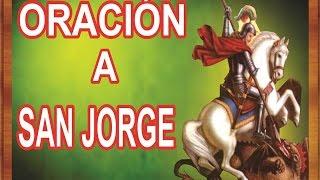 ORACIÓN PARA TENER SUERTE - A SAN JORGE | ESOTERISMO AYUDA ESPIRITUAL