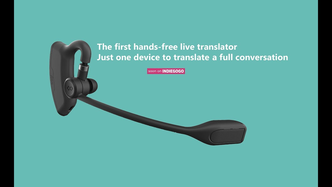 TRAGL, The Smartest Hands-Free Live Translator | Indiegogo