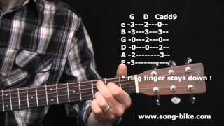 """Small Town"" Guitar Lesson Video (John Mellencamp)"