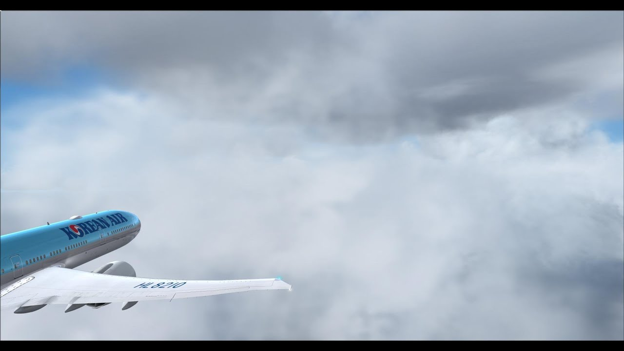 PMDG 777 Korean air RKPK-RKSI with lievatc,fsx,fs2crew