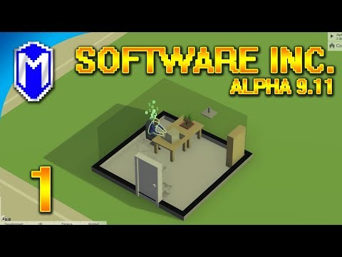 Software Inc - Starting Up Our Software Development Studio - Let's Play Software Inc Gameplay Ep 1
