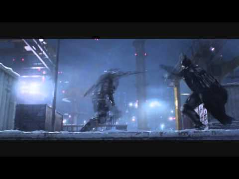 Batman vs Deathstroke Animated Fight