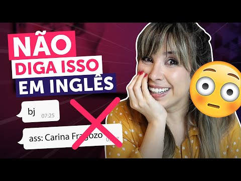 🙈 ERROS CONSTRANGEDORES Em Inglês | English In Brazil