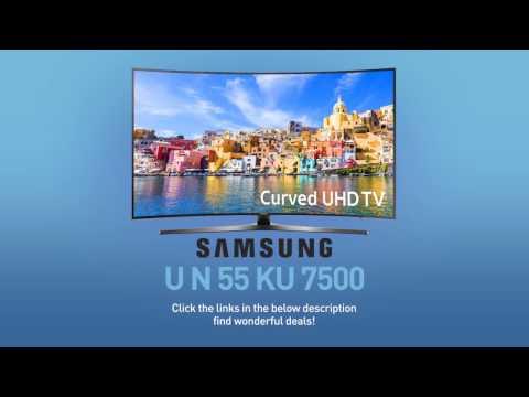 SAMSUNG UN55KU7500 ( KU7500 ) Curved 4K UHD TV // FULL SPECS REVIEW #SamsungTV