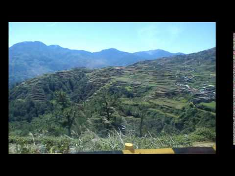 The RICE TERRACES from Baguio City to Bontoc Mountain Province and to Dananao Tinglayan Kalinga