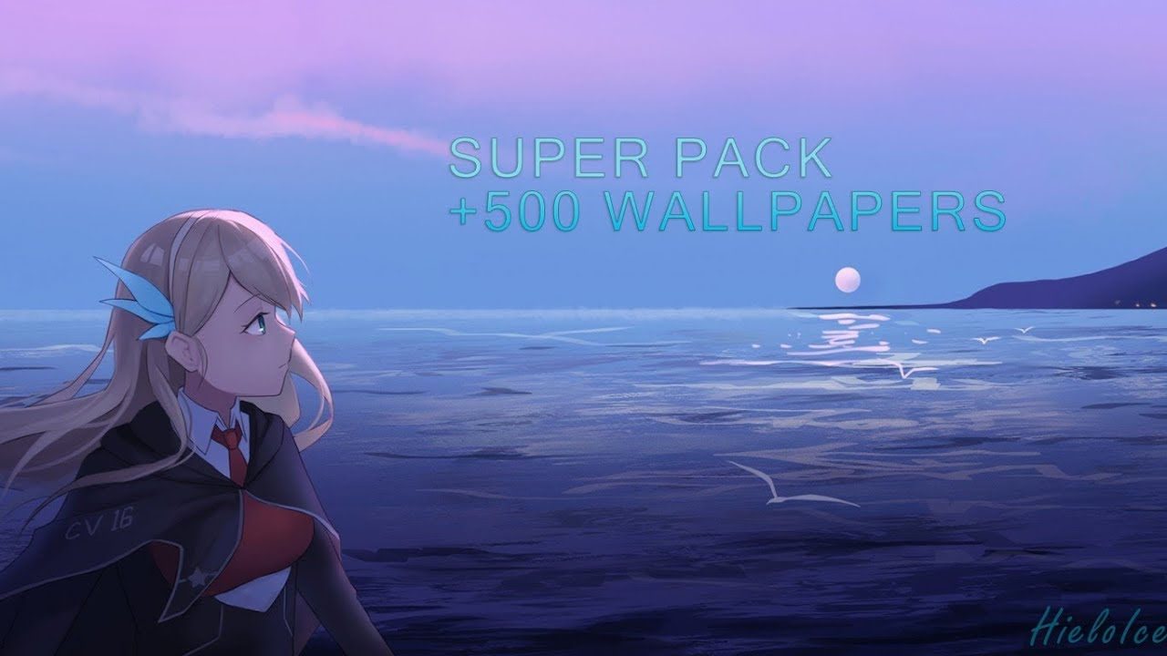 Pack 500 Wallpapers Anime Videojuegos Paisajes Y Kawaii
