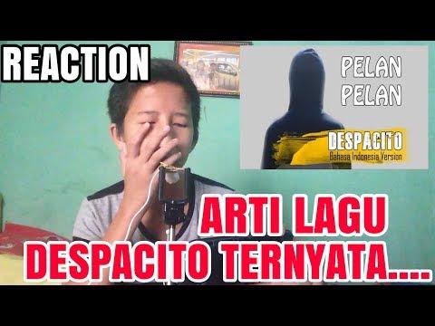 Ternyata Ini Arti Lagu Despacito Sebenarnya.. | Despacito Bahasa Indonesia By Trisnanto #SipitReact