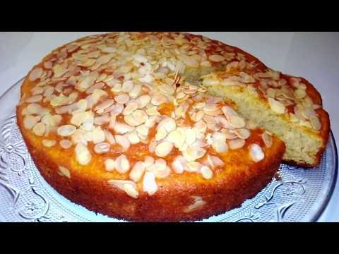 gâteau-moelleux-aux-amandes-sans-beurre-sans-huile