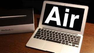 """11"""" Macbook Air Unboxing & Overview"""