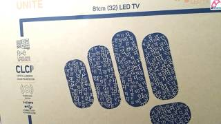 Micromax led 32 inch 32T8361HD unboxing and review