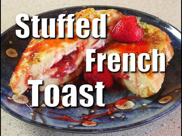 How To Make Strawberry & Cream Cheese Brioche Loaf