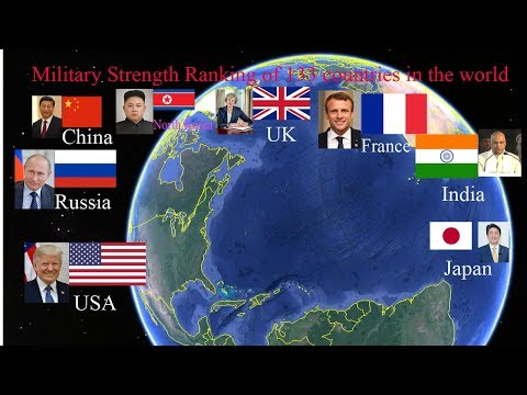 2017-Military Strengthg Ranking  Of 133 Countries In The World