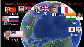 Military Strengthg Ranking  of 133 countries in the world