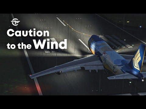 Bursting into Flames Before Takeoff | Singapore Airlines Flight 006 | New Flight Simulator 2018 |