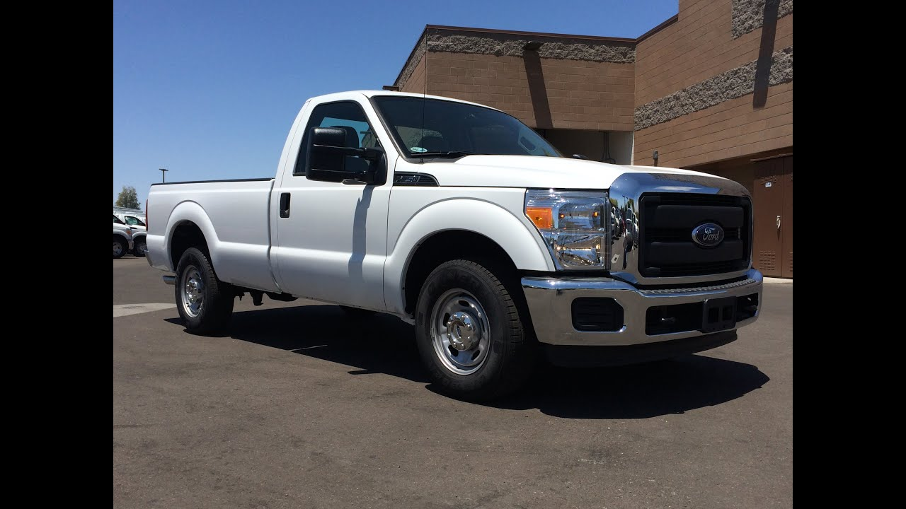 2015 Ford F 250 Regular Cab Walkaround