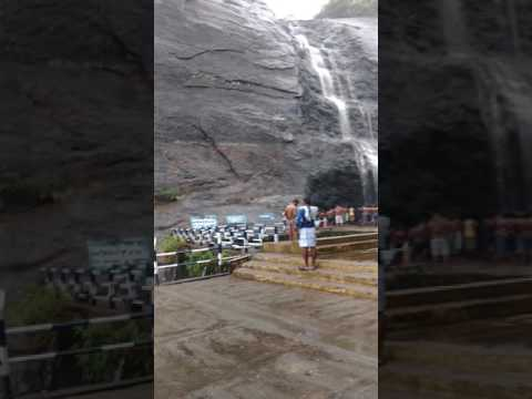 Courtallam - old falls