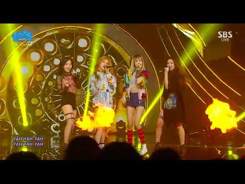 BLACKPINK - '붐바야(BOOMBAYAH)' 0828 SBS Inkigayo