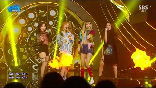 BLACKPINK 붐바야 0828 SBS Inkigayo MP3