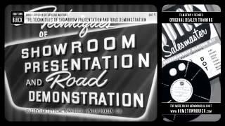 1952 Buick - The Techniques of Showroom Presentation and Road Demonstration