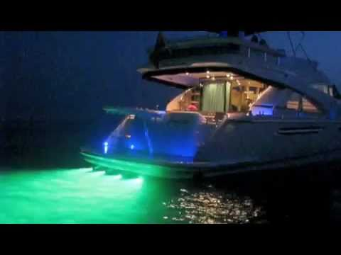lumishore - underwater led boat & yacht lights, color-change model, Reel Combo