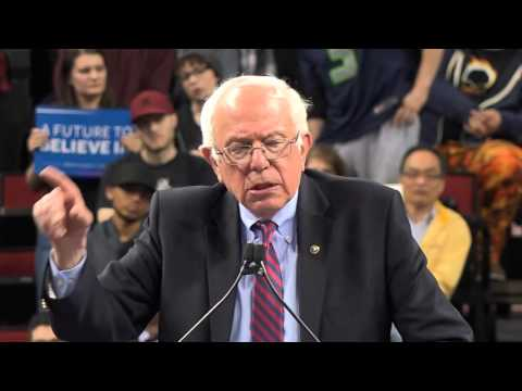 Bernie Sanders Rally At Key Arena Seattle 3/20/16