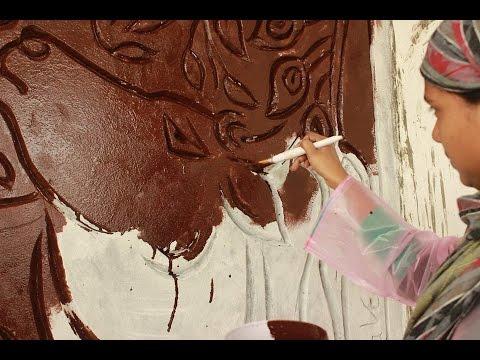 Mural Artwork by Mehta Art Gallery Varanasi Team