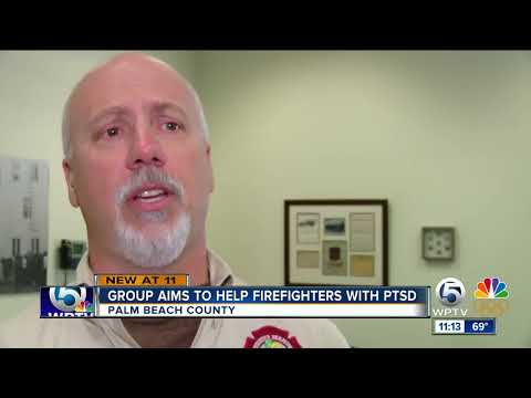Palm Beach Fire Rescue hosts national firefighter PTSD expert for training course