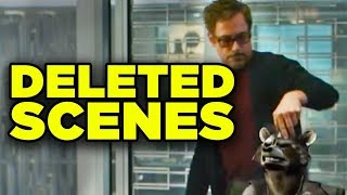 Avengers Endgame Deleted Scenes Revealed! Comic Con Blu-Ray Trailer Breakdown! #SDCC