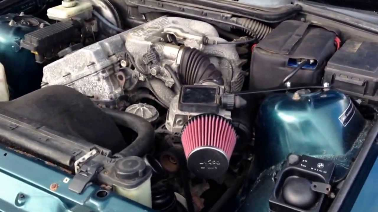 Bmw E36 318is K Amp N 57i Air Induction Kit Youtube