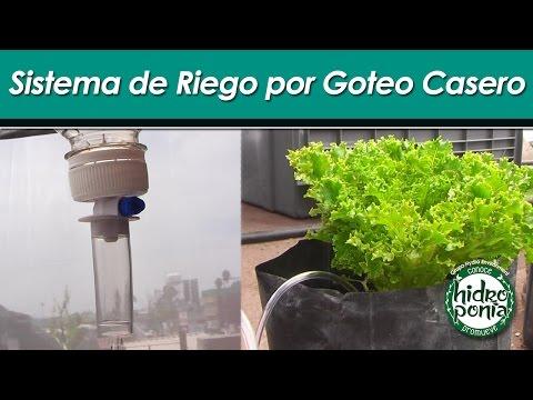 Hazlo en casa mar 9 abr como hacer un sistema de riego for Riego por goteo casero