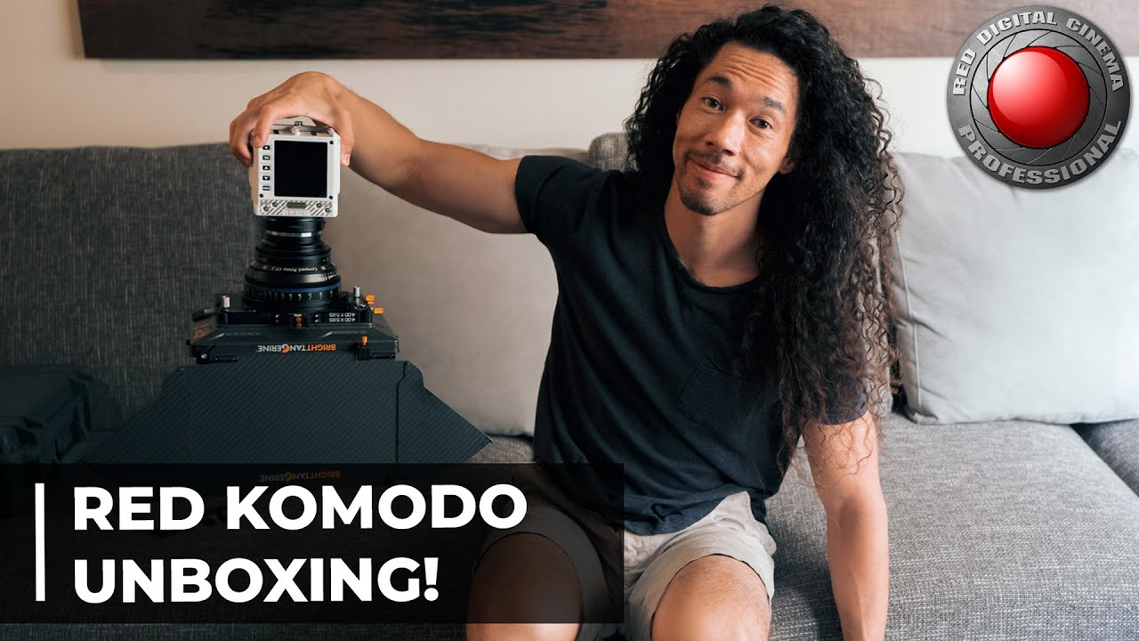 RED KOMODO UnBOXING - Why I bought a Cinema Camera!
