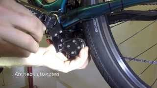 10 seconds to install add-e to your bicycle