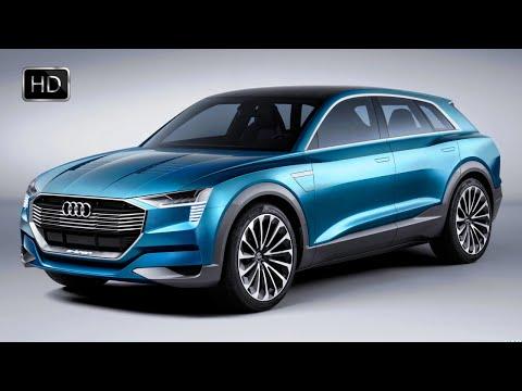 2018 Audi E-Tron Quattro SUV Concept Exterior & Interior Design HD
