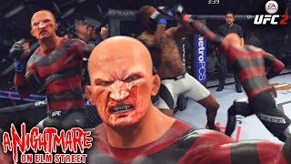 Freddy Krueger Caught Them Sleeping! Nightmare On Elm Street - EA Sports UFC 2 Ultimate Team