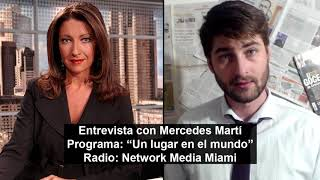 Mercedes Martí entrevista a El Presto para NM Miami