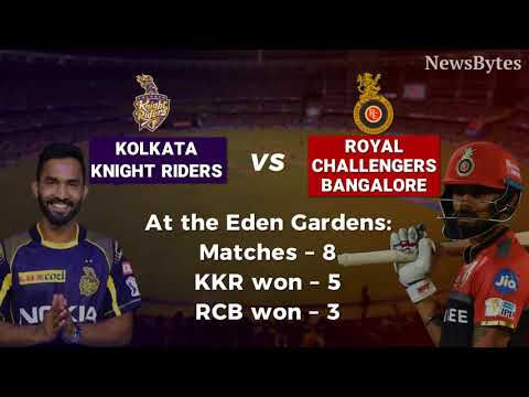 KKR vs RCB: Head-to-head and other interesting stats