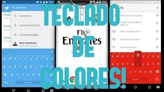 mejor teclado para android 2016 chrooma keyboard apk gratis