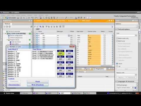 S7 1200 PROFINET WITH VISUAL C# - YouTube