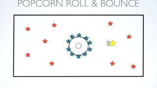 P.E. Games - Popcorn Roll & Bounce