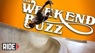 Tony Hawk & Chris Miller Prep for the Pro Tec Pool Party: Weekend Buzz ep. 16