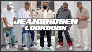 JEANSHOSEN LOOKBOOK | Top 5 Baggy & Wide leg Jeans | How to style Denim | Sommer 2020 | Sami Rhoma
