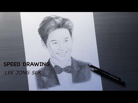 Lee Jong Suk (이종석) | Speed Drawing